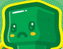 Minecraft Kawaii Creeper