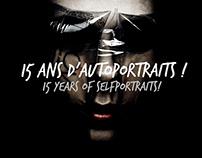 15 ANS D'AUTOPORTRAITS !