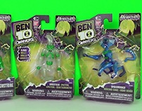 Ben 10 Toy Packaging for Bandai Berman Design Group