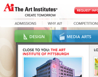 The Art Institutes - Homepage redesign