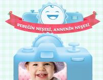 Pınar Çocuk Sütü  fb app & microsite