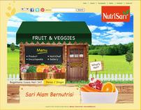 WEBSITE NUTRISARI