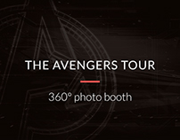 The Avengers Tour / 360° photo booth