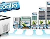 Coolio International™  In-store refrigerated promotion