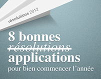 AppGratuites Résolutions 2012