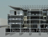 "Homologation Project ""School of Medicine headquarters"""