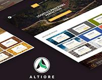 Website Altiore - Innovative international brokerage