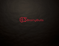 Brainybulls.com Logo Concepts (2 Concepts)