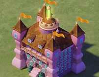 Celestials - 3D Buildings Game Concepts