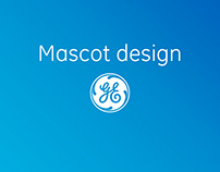 Mascot designs for GE news app
