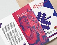 Visual identity for International floklore festival