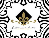 Restaurant La Terrasse du Château / Visual identity