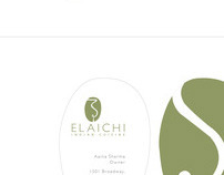 Elaichi Indian Restaurant Stationery System