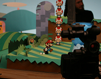 Nintendo - Paper´s scale model and characters