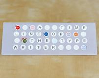 Timeline of the Typewriter