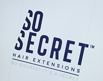So Secret Hair Extensions Branding