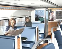 Surfliner III - Train Car Design