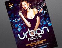 Urban House Flyer