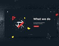 Zil Tech website design