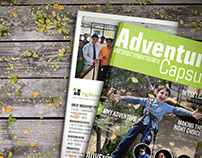 Adventure Capsule Magazine or Catalogue