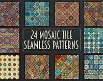 Patchwork pattern set