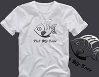 Fish T-shirt Mockup