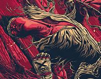 Ryu vs Scorpion Poster