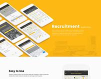 Recruitment Mobile App Design