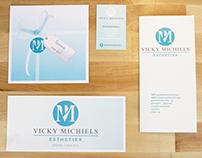 Esthetiek Vicky Michiels - promotional printwork
