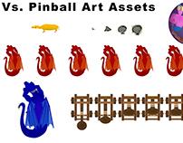 Vs. Pinball Art Assets