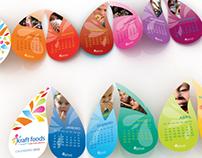 Desk Calendar, Kraft Foods