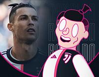 Cristiano Ronaldo's Illustration