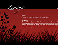 Zenoya Website