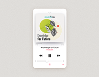 Podcast Cover - Knowledge for Future