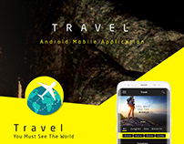 Free Download Travel Mobile Application - UI/UX Design