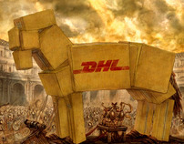 DHL I Press ads