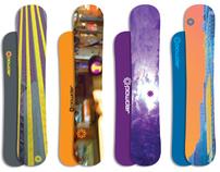 Powder Snowboards - Conceptual