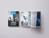 Midea catalogue design