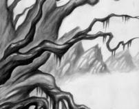 Trees at a swamp