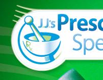 """J.J.'s Prescription Specialties"" Logo Update"