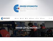 Ergisi Automotive - Corporate Website Design