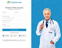 Doctor Consultant Signup