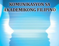 Cover Design 2 for Komunikasyon sa Akademikong Filipino