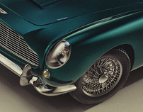 ASTON MARTIN DB5 (JAMES BOND'S CAR)