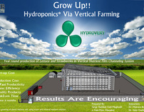 Hydroponics Via Vertical Farming