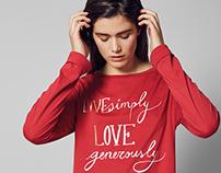 Live love learn - for Oysho