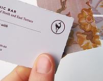 Botanic Bar business cards