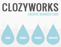 ClozyWorks - Creative Business Card