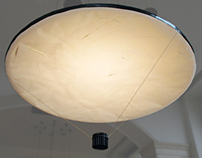 Paper Paraboloid Lamp