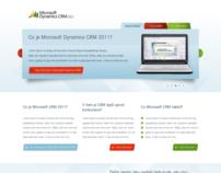 Minisite Microsoft Dynamics CRM 2011